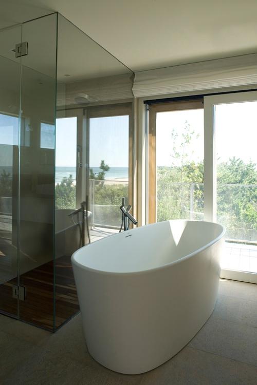 ванная комната в США - дизайнер Антонио Четтерио