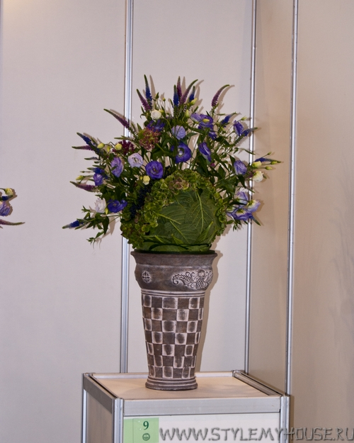 Фотоотчет с чемпионата России среди профессиональных флористов