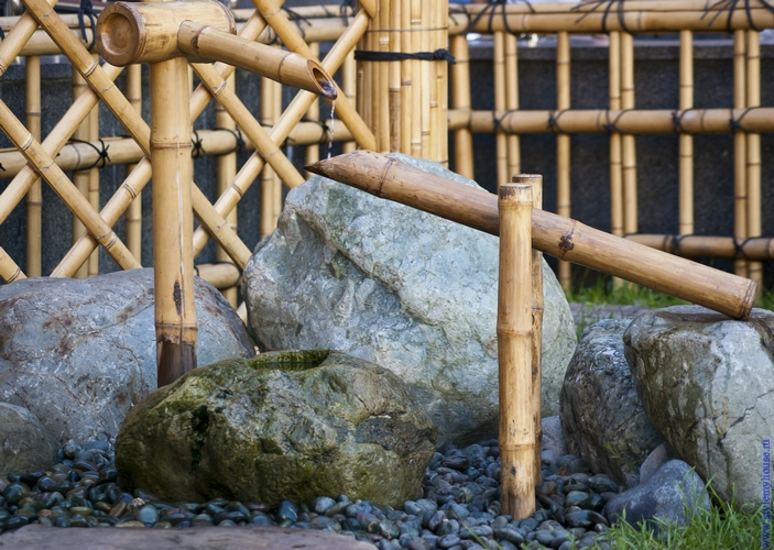 Японский сад своими руками это
