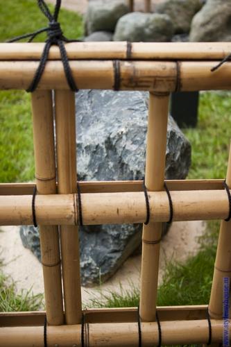 решетки из бамбука