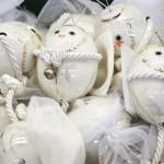 винтажные игрушки - яйца на елку