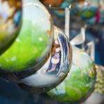 новогодние шары в традиционно русском стиле