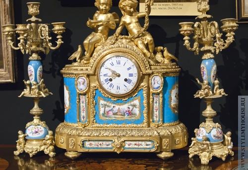 58a01098 Каминные часы – последний штрих к классическому интерьеру -