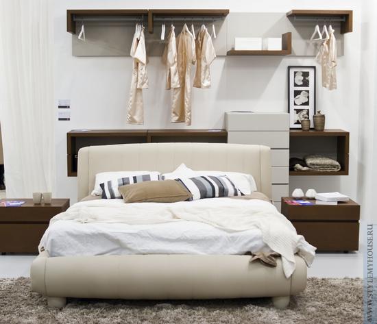 Современная итальянская спальня – уже классика