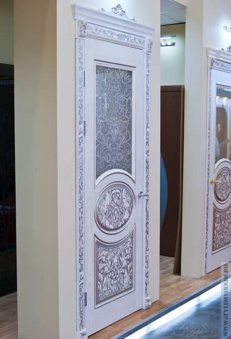 Двери в стиле прованс фото