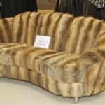 выставка I Saloni - диван из натуральной шерсти