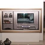 встроенный шкаф - стойка под телевизор