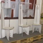 стулья деревянные Строгановское училище