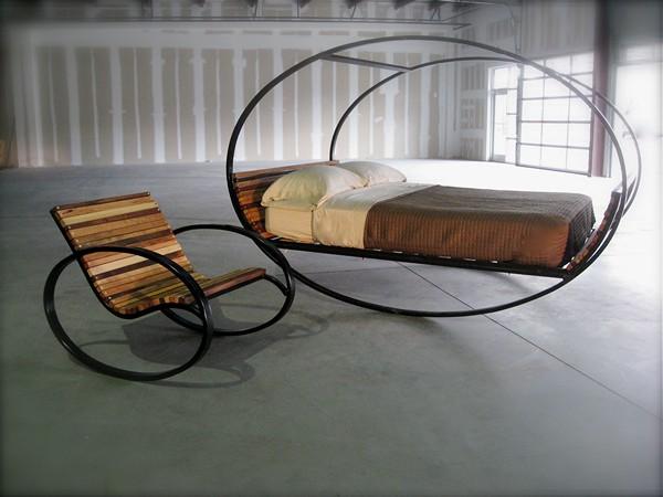 кровать качалка разборная