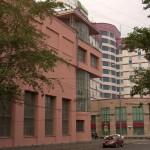 зданпе в стиле конструтивизм на Лесной улице - Дом культуры им С.М. Зуева