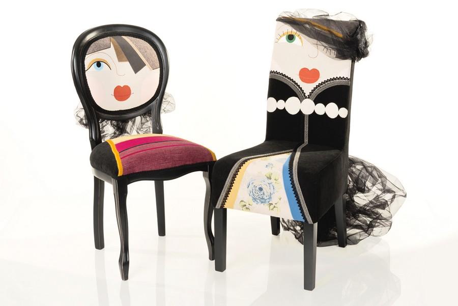 дизайнерские стулья от Irina Neacsu