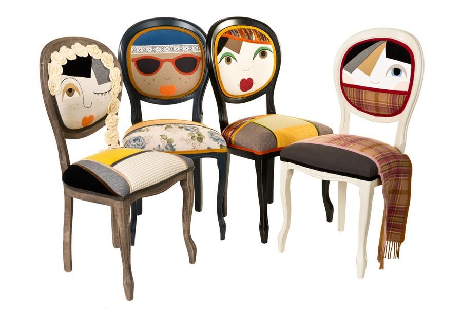 дизайнерские стулья стиль Cote Deco