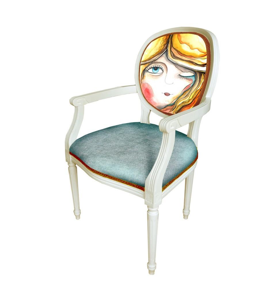 дизайнерский стул от Irina Neacsu