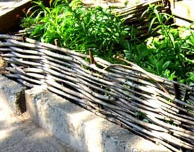 деревенский палисадник
