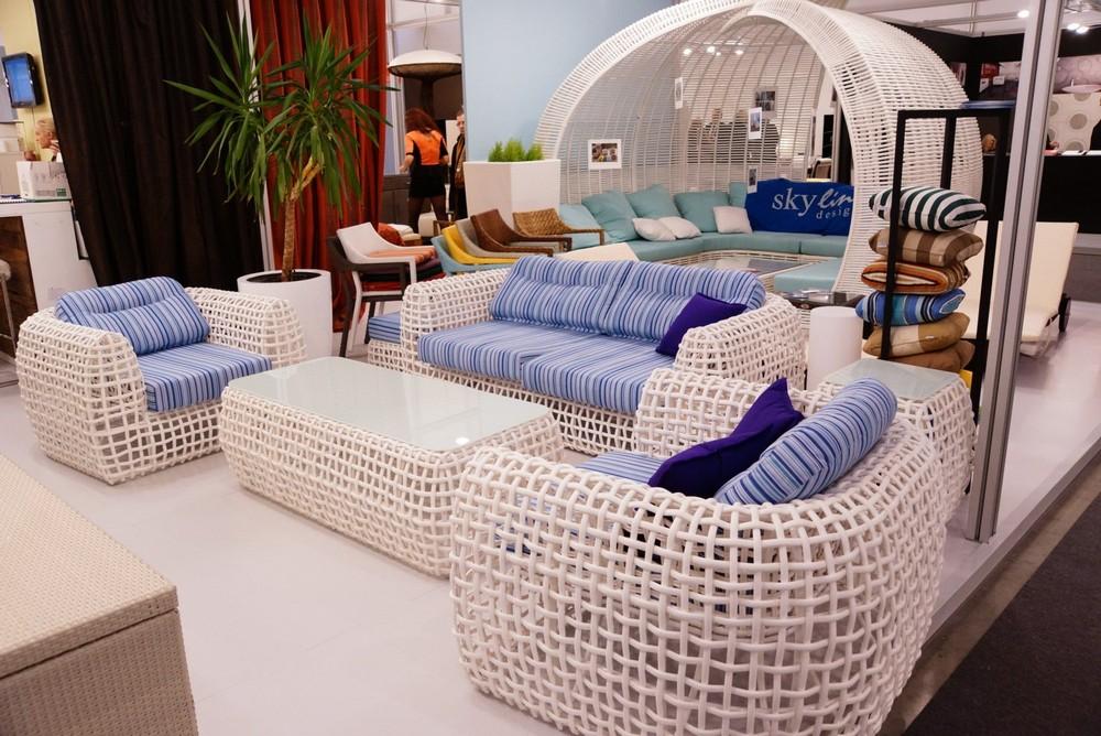 комплект садовой мебели из алюминия