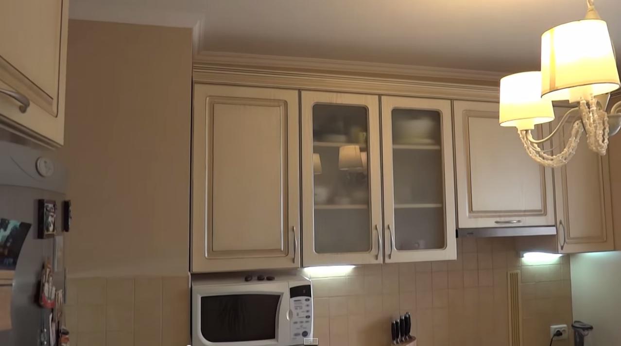 реомнт потолка на кухне