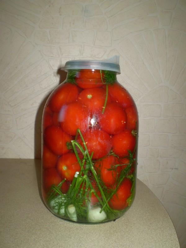 как приготовить квашеные помидоры