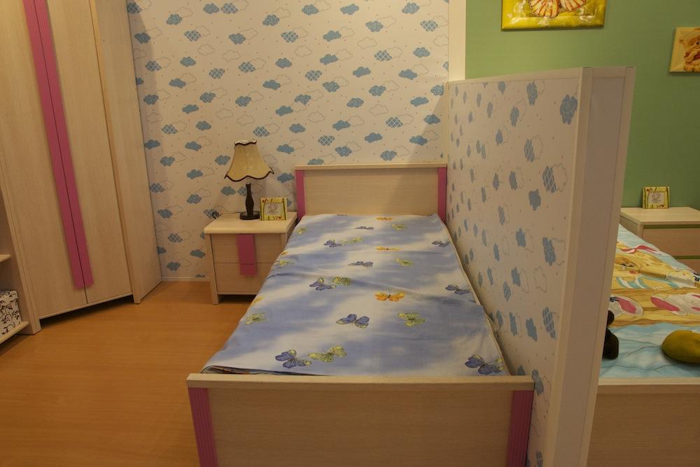 односпальная кровать для девочки