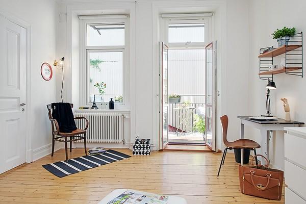 комната с видом на балкон