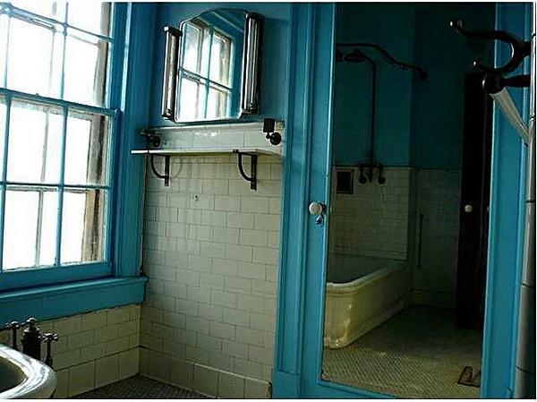 ванная в историческом доме