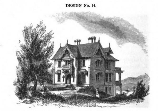 исторический дом в США